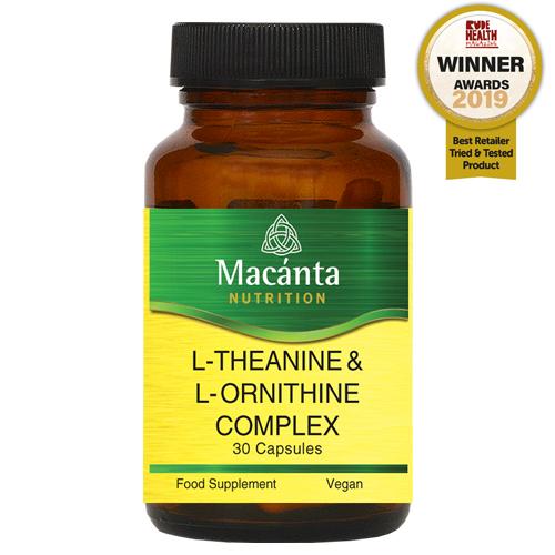 Macánta L-Theanine & L-Ornithine Complex