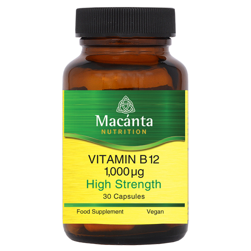High Strength Vitamin B12 | Macánta Nutrition