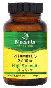 Vitamin D3 | Irish Made | Macánta Nutrition
