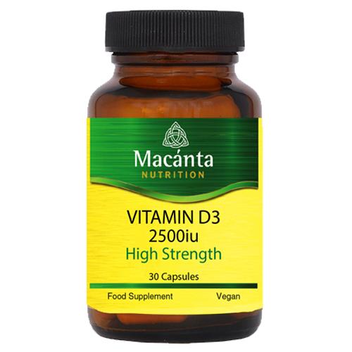 Vitamin D3 2500iu | Macánta Nutrition