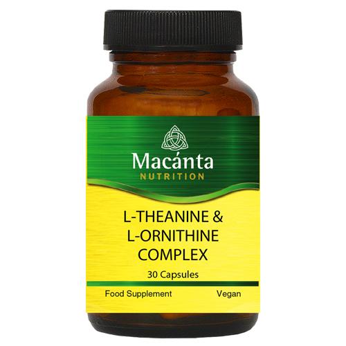 L-Theanine & L-Ornithine | Macánta Nutrition