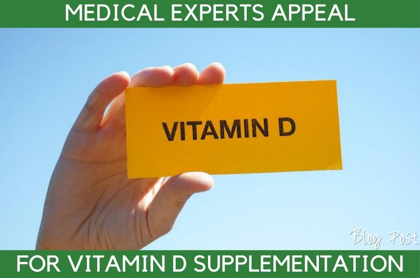 Irish Experts Recommend Vitamin D Supplements