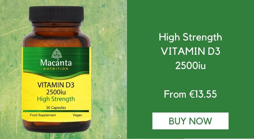 Vitamin D3 | Macánta Nutrition | Irish Made Supplements | Vitamins