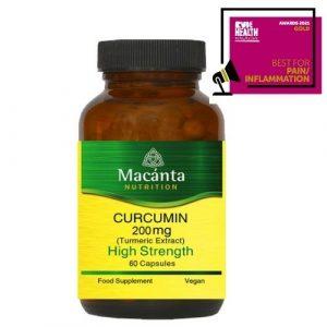 Curcumin Rude Health Award | Macánta Nutrition