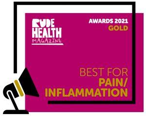 Rude Health Awards 2021 | Gold Award for our Macánta Curcumin