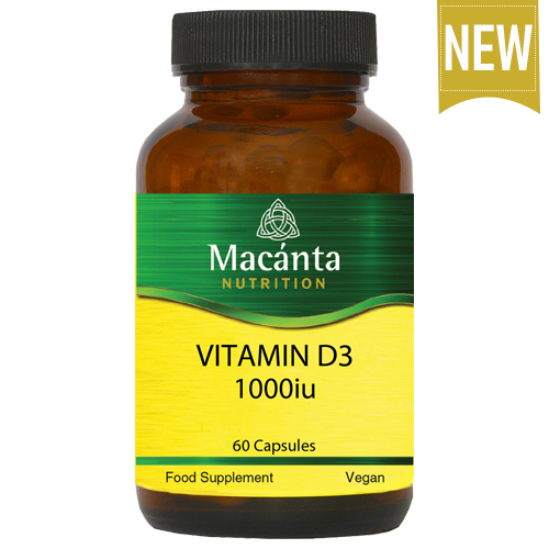 Vitamin D3 1000iu   Macánta Nutrition