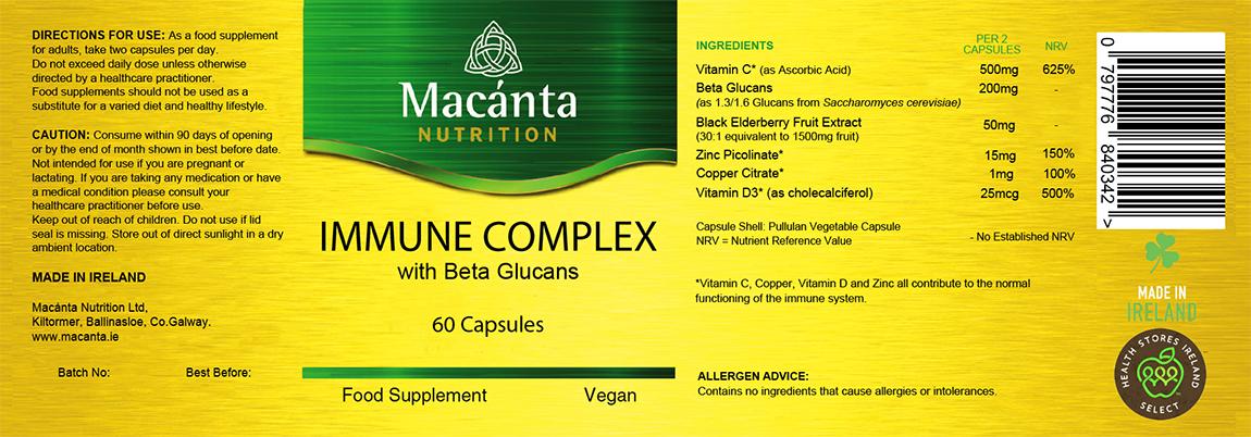 Immune Complex | Macánta Nutrition